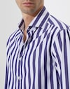 法式领衬衫 蓝色 男款 Brunello Cucinelli