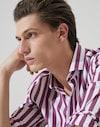 法式领衬衫 紫萝兰 男款 Brunello Cucinelli