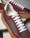 运动鞋 波尔多色 男款 Brunello Cucinelli