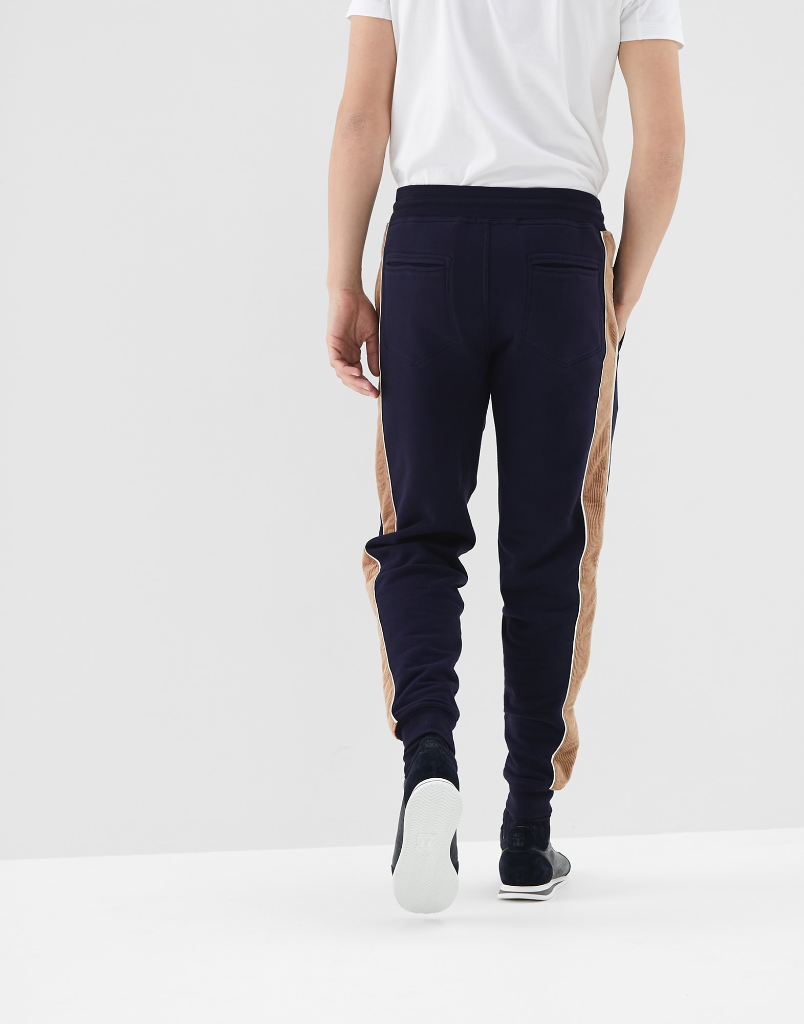 Sweatpants Cobalt Man 1 - Brunello Cucinelli