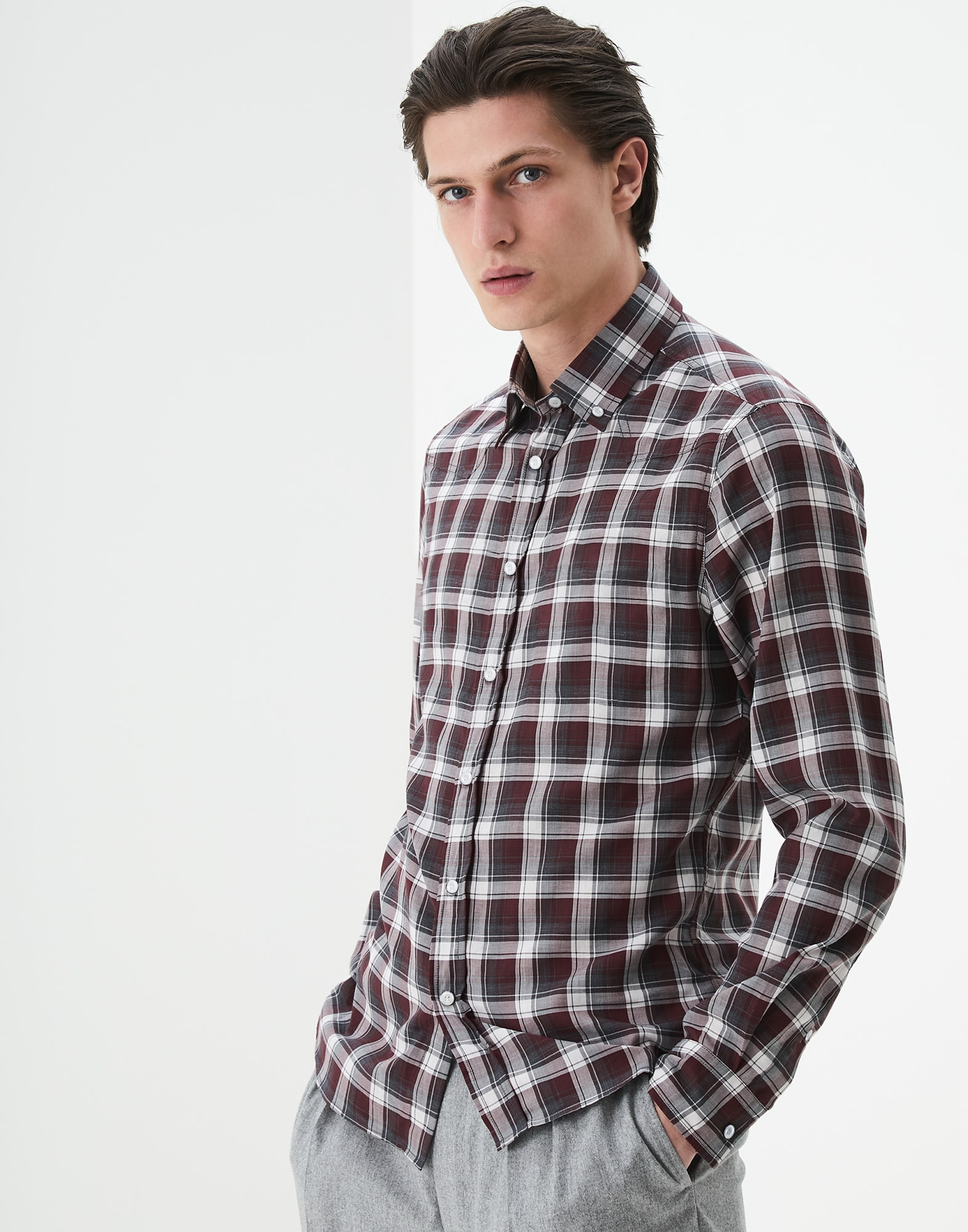 Button Down Shirt - Front view
