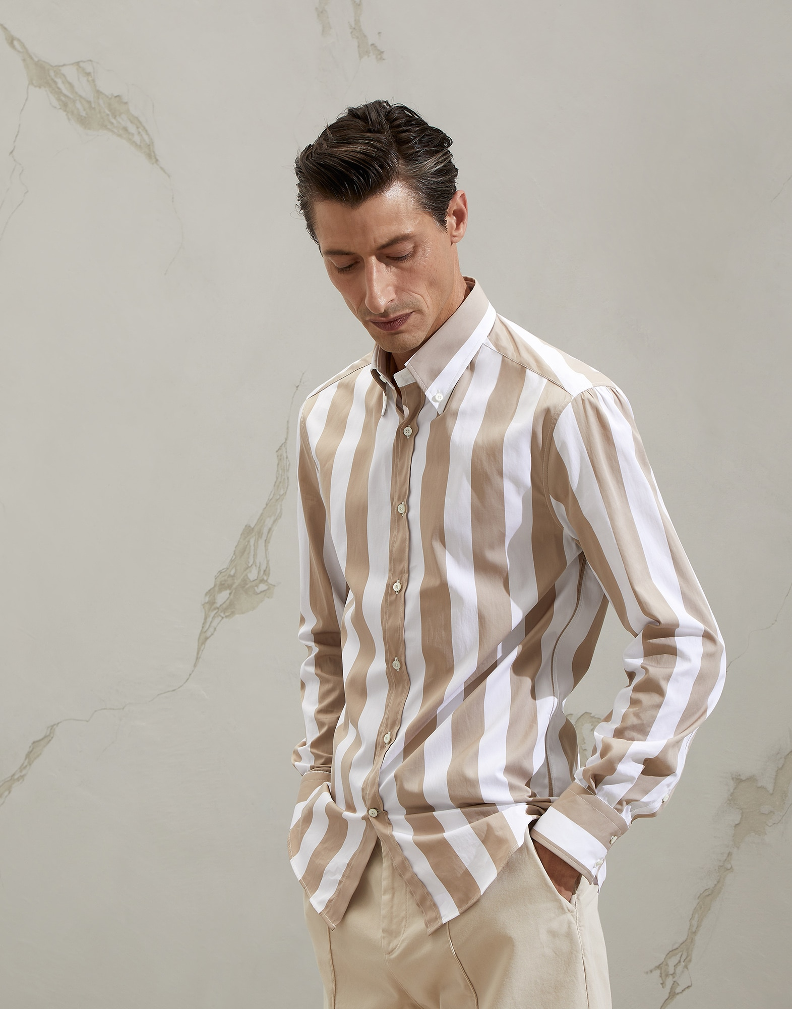 Cotton Shirt - Front view
