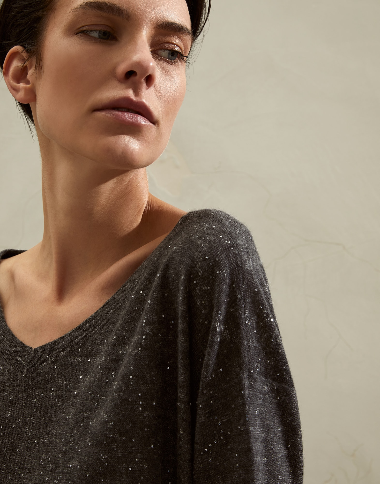 Scoop Neck - Detail