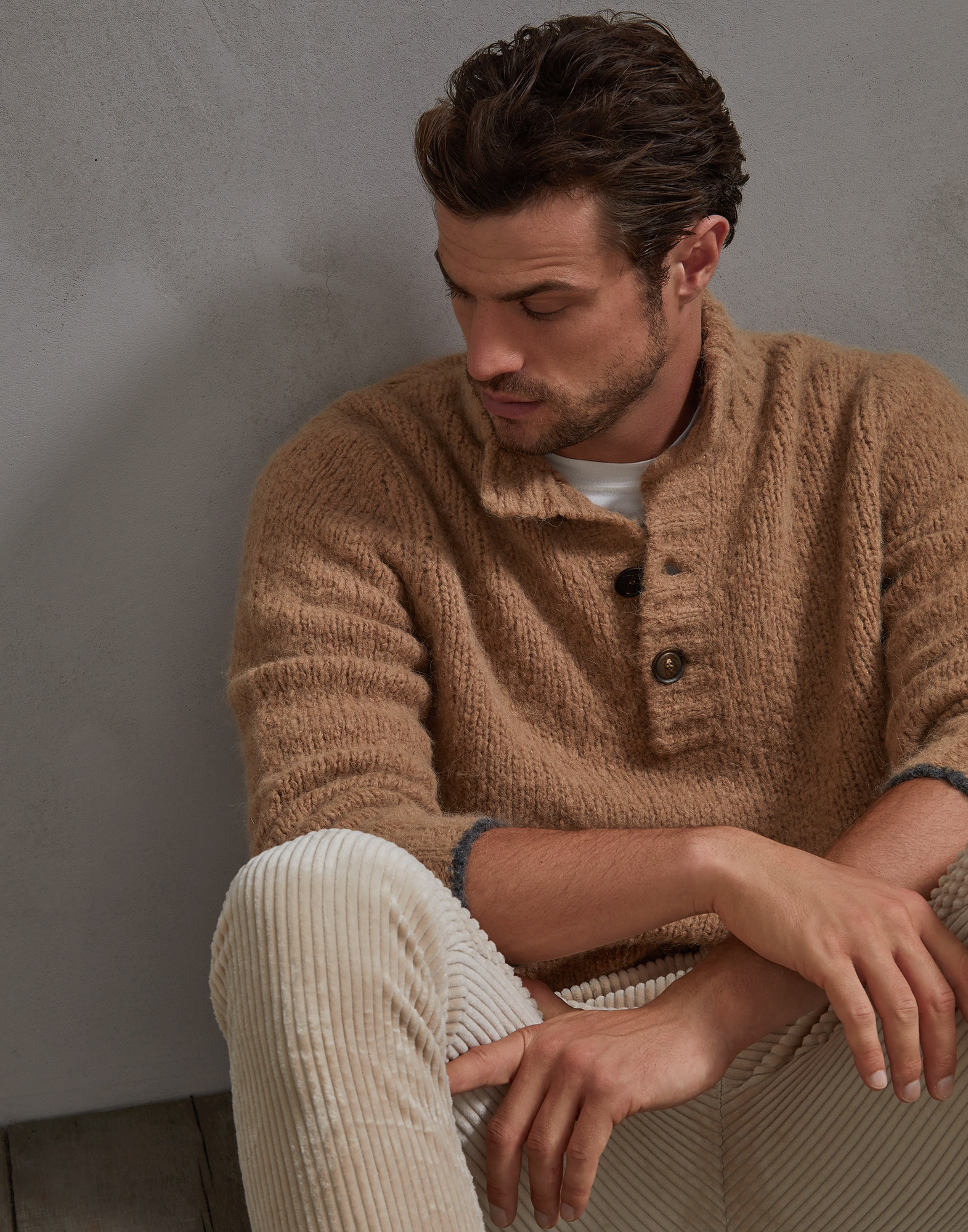 High Neck Sweater - Editorial