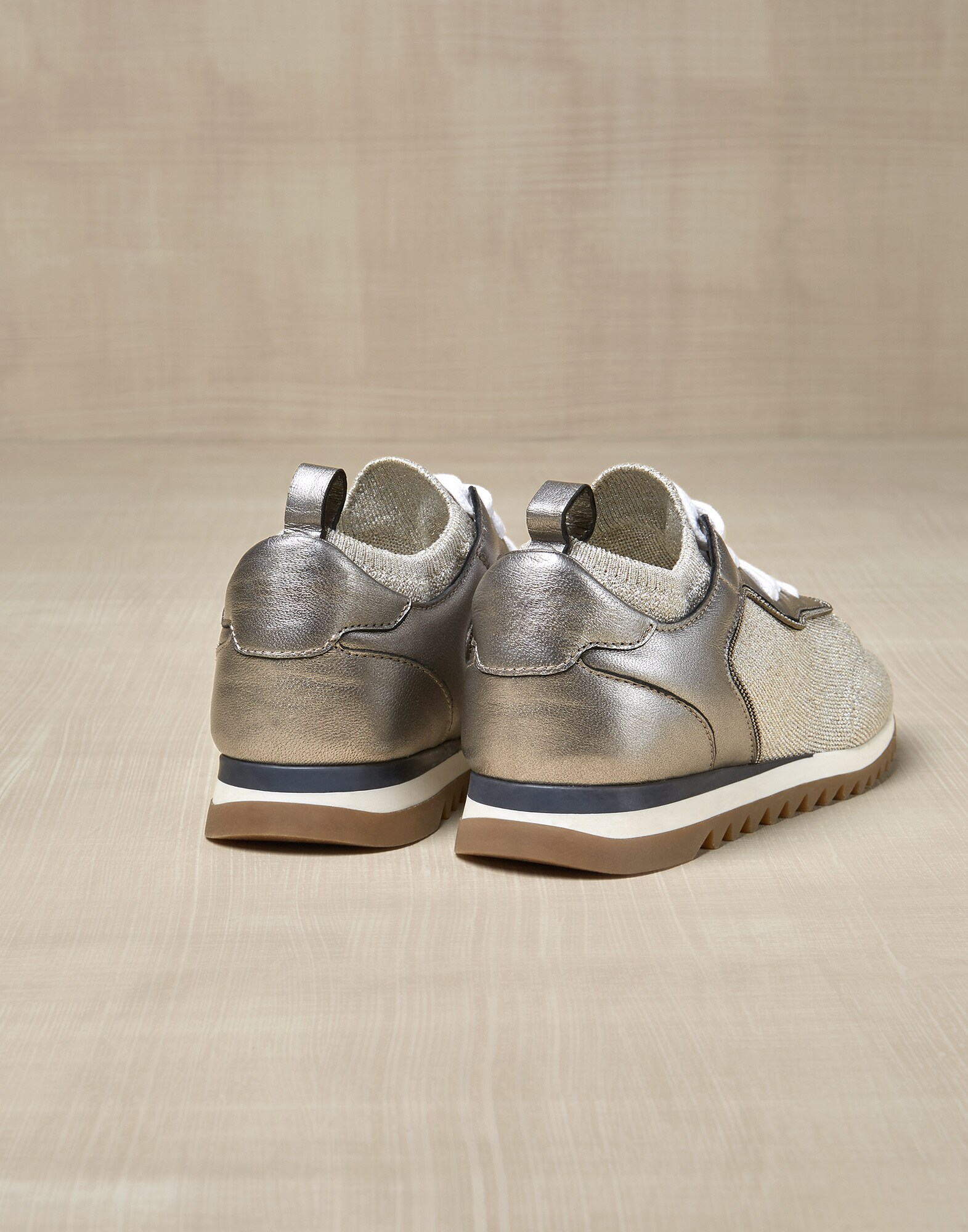 Sneakers Beige Girl 2 - Brunello Cucinelli