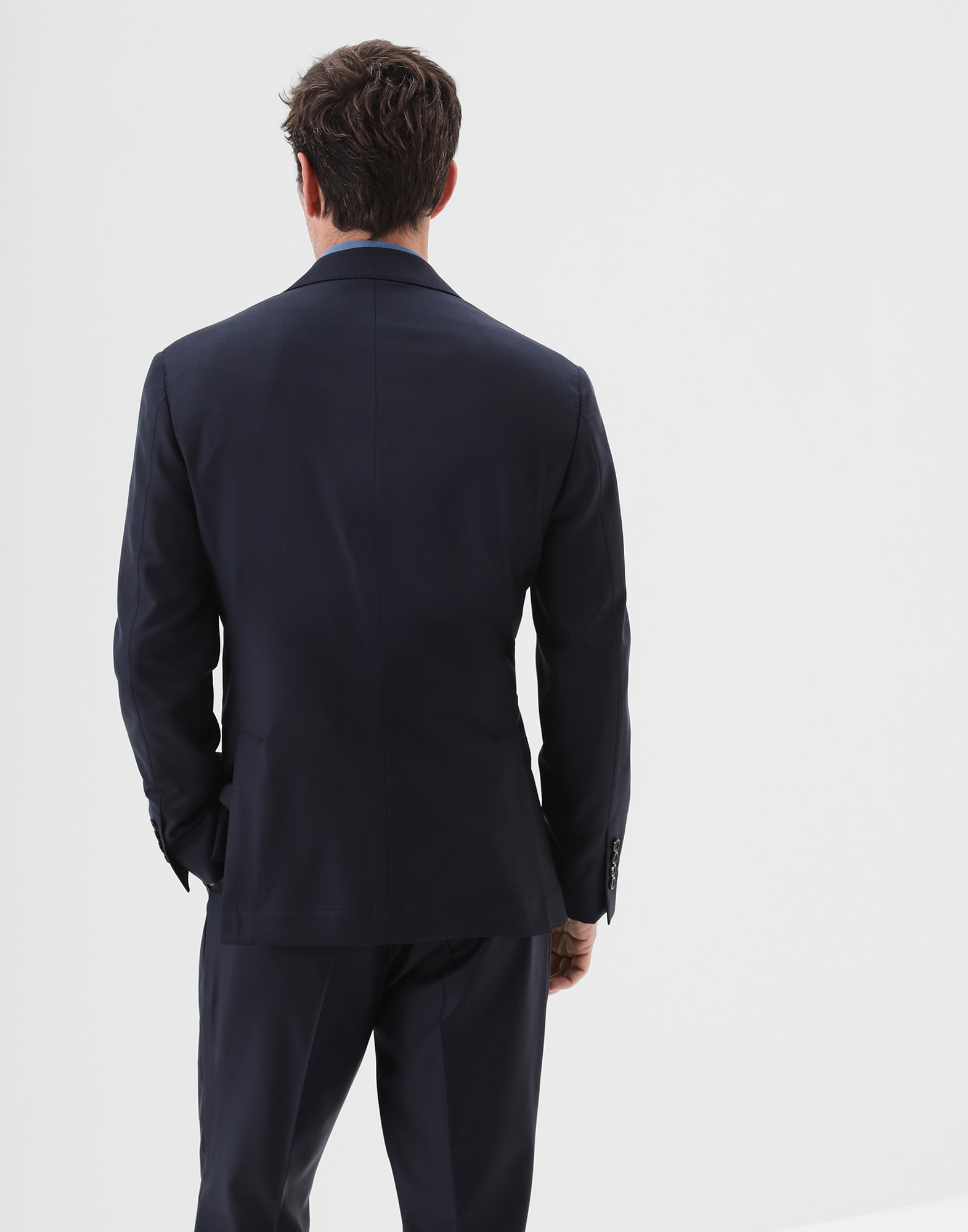 Single Breasted Blazer - Back