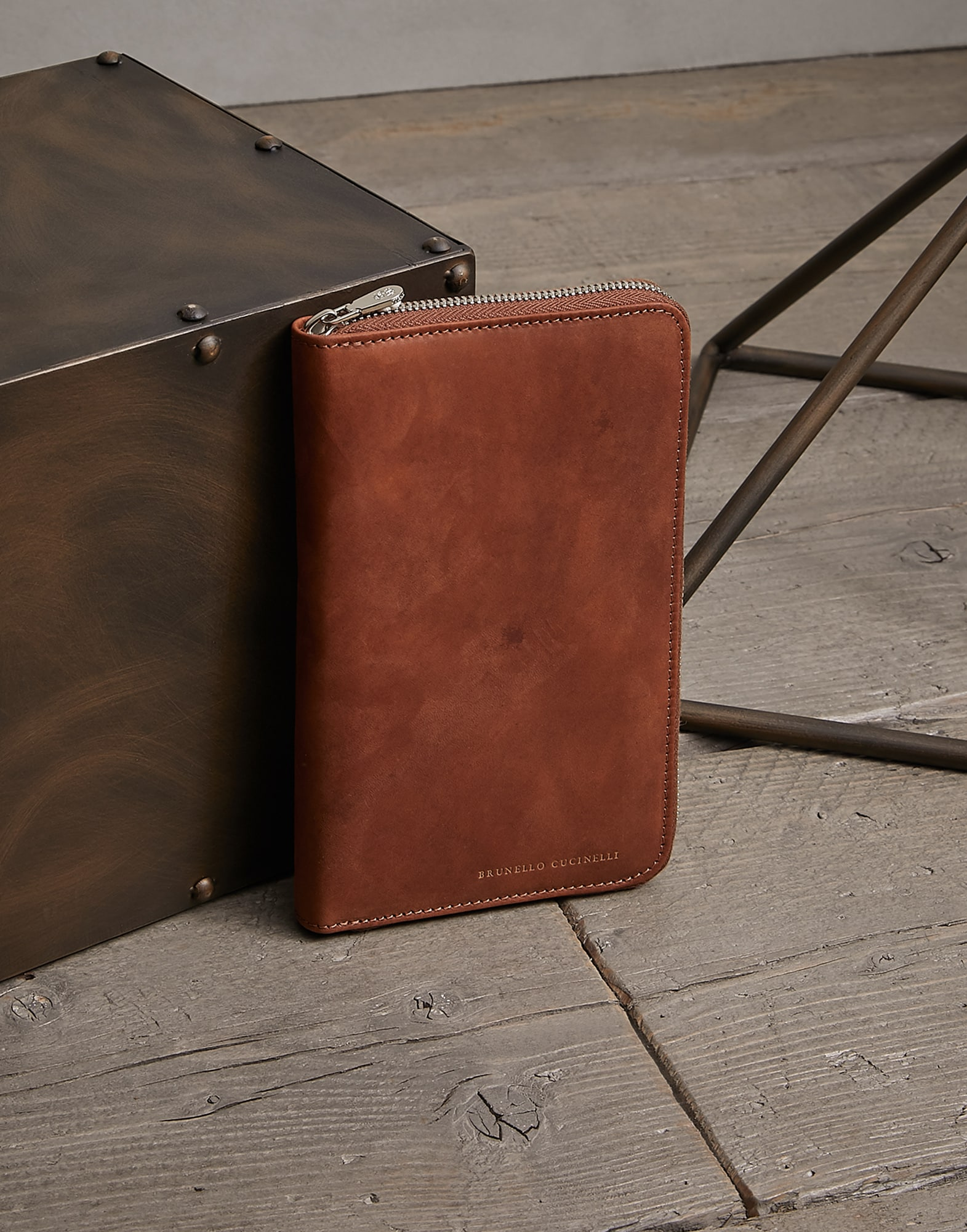 Document Holder Bark Man 0 - Brunello Cucinelli