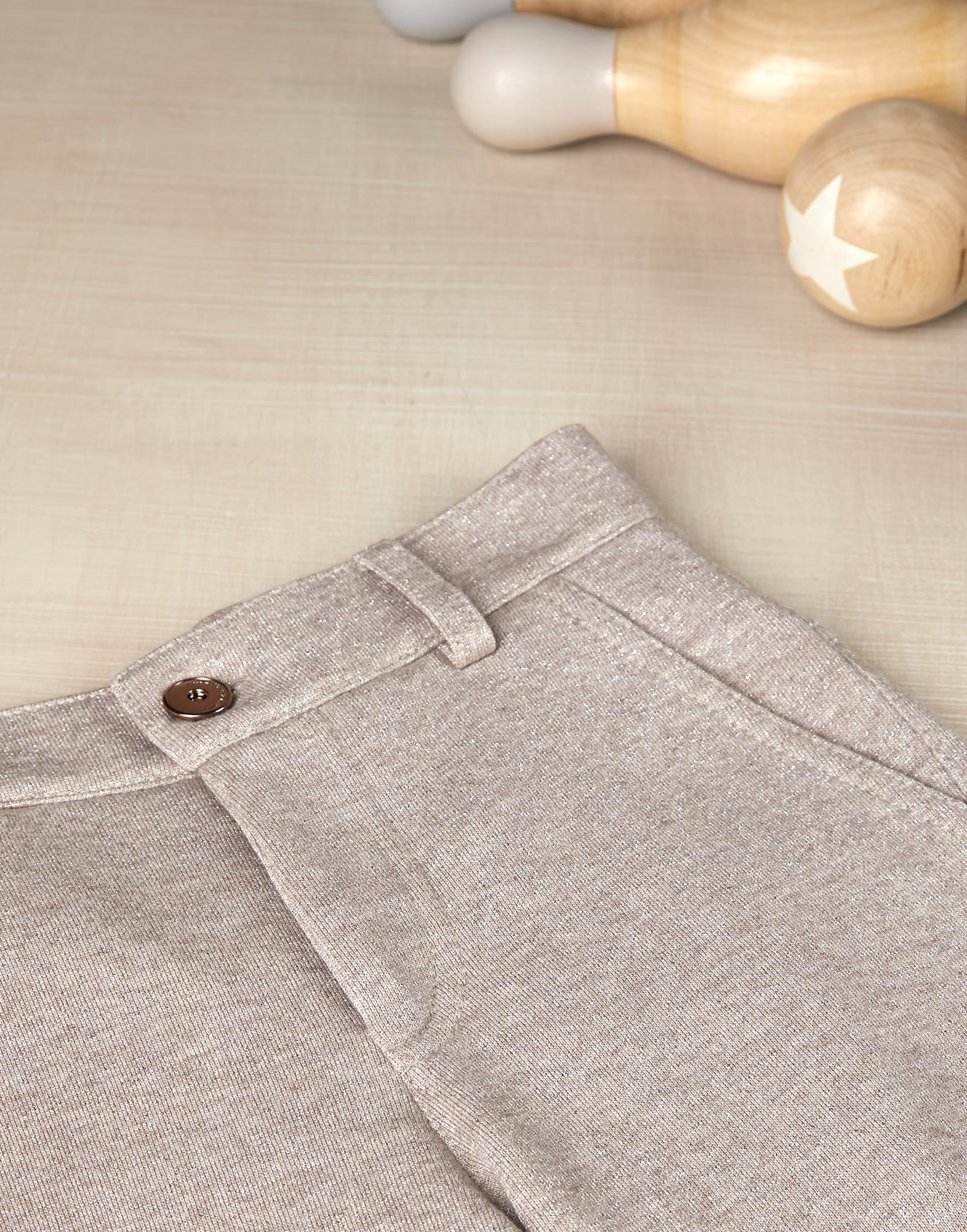 Trousers Beige Girl 2 - Brunello Cucinelli