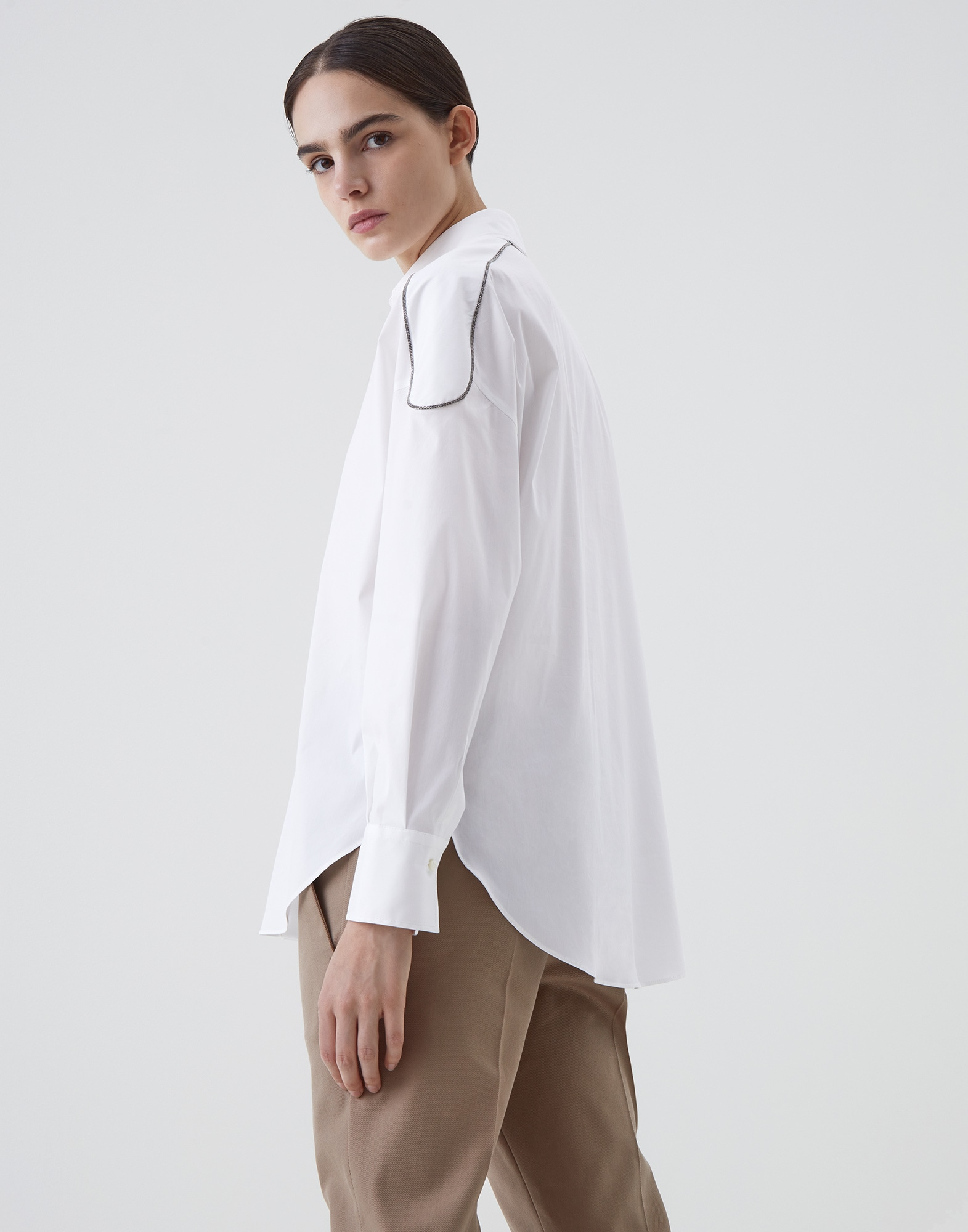 Cotton Shirt - Back