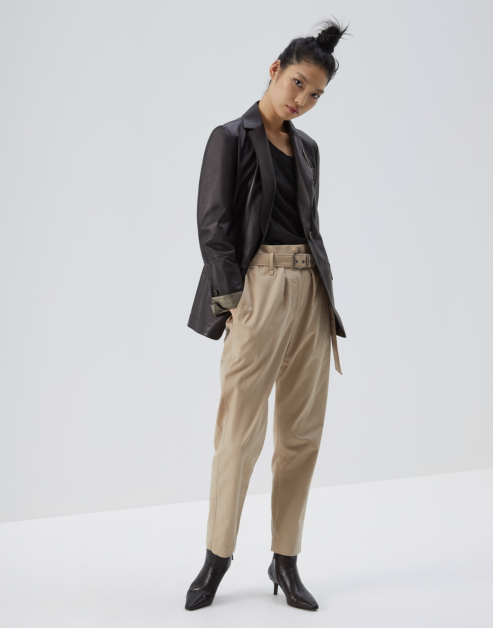 Trousers Rope Woman 3 - Brunello Cucinelli