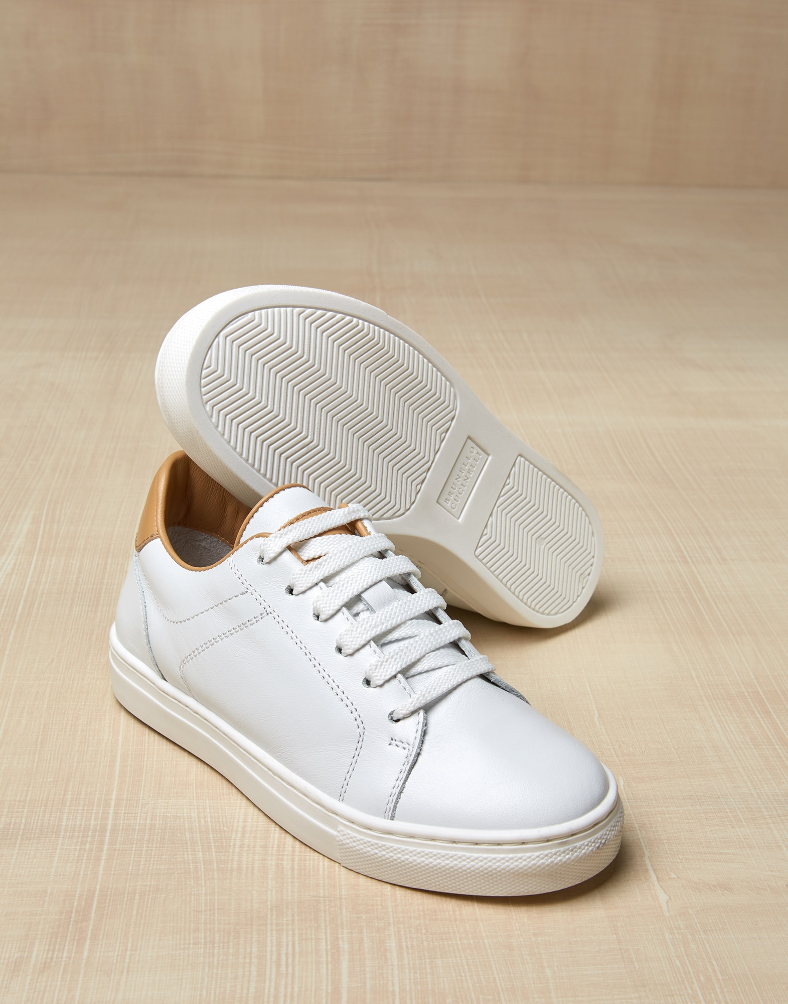 Sneakers White Boy 0 - Brunello Cucinelli