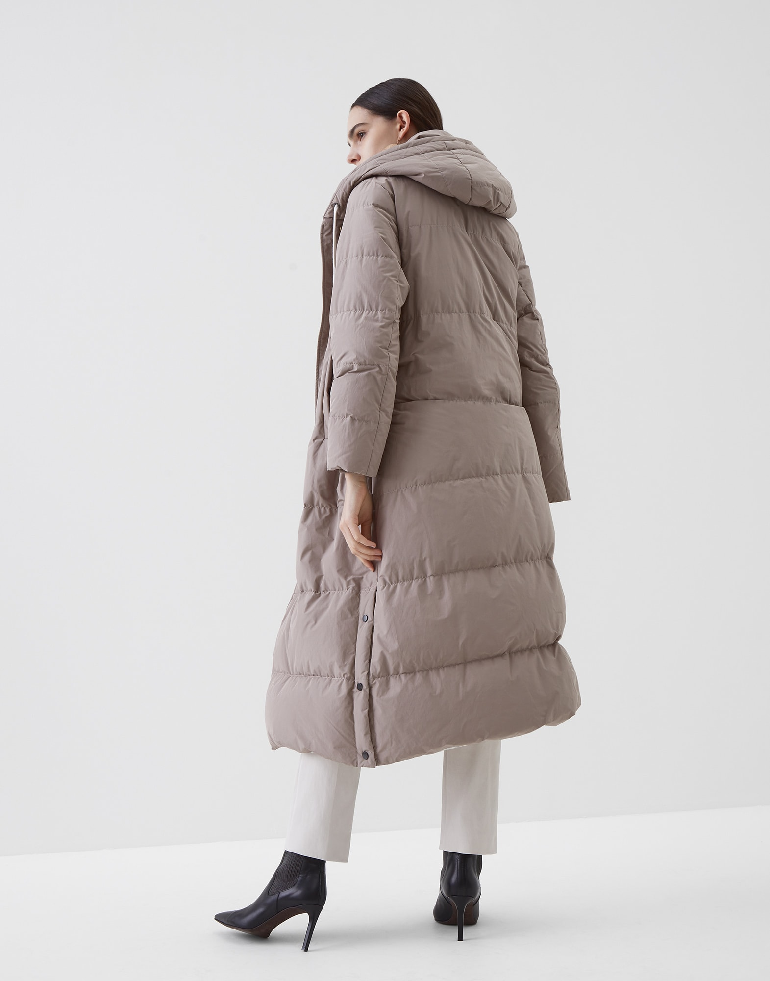 Down Jacket - Back view