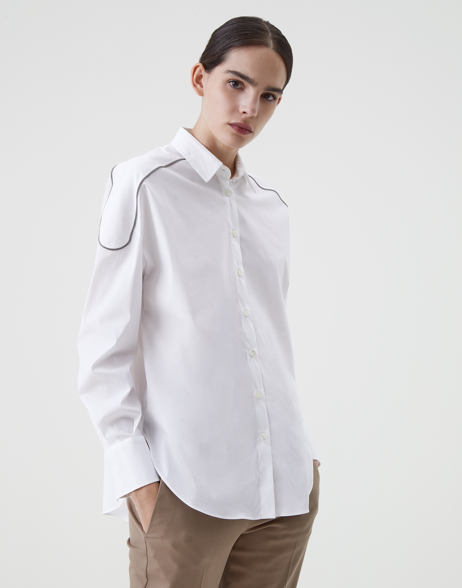 Cotton Shirt - Front