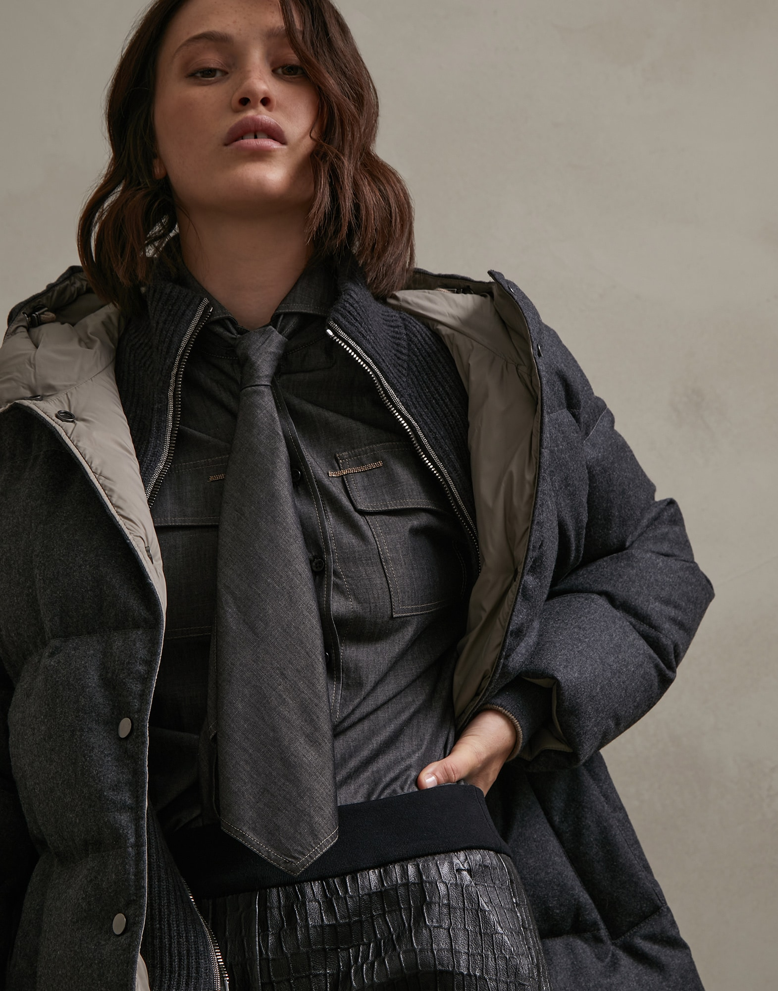 Down Jacket - Editorial