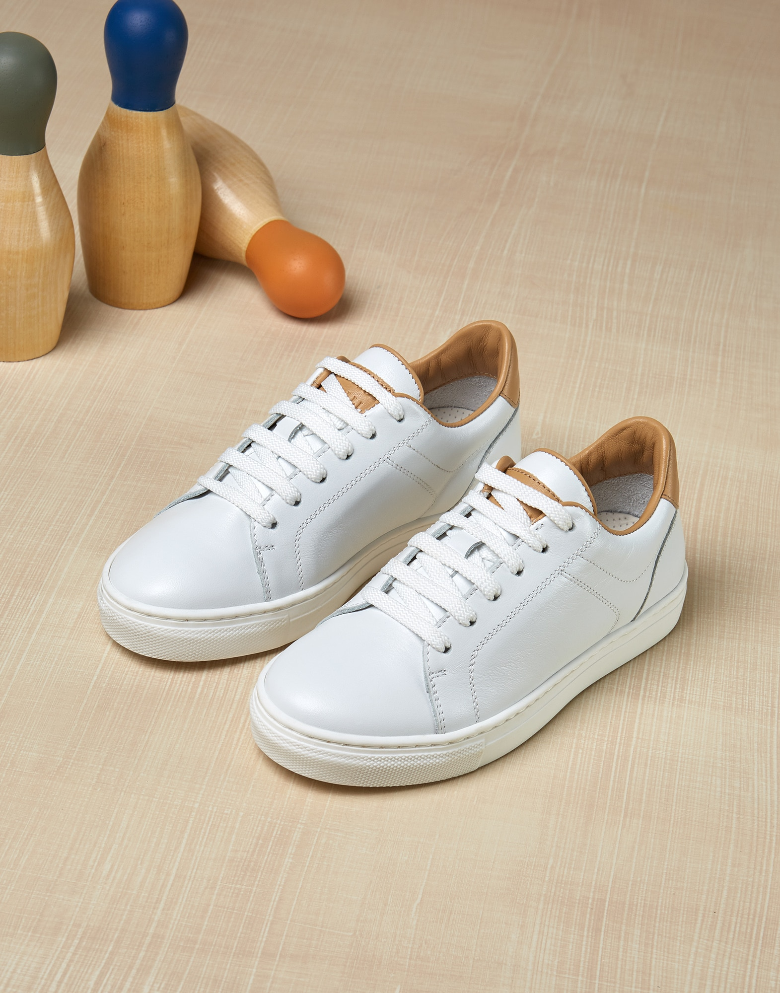 Sneakers White Boy 1 - Brunello Cucinelli