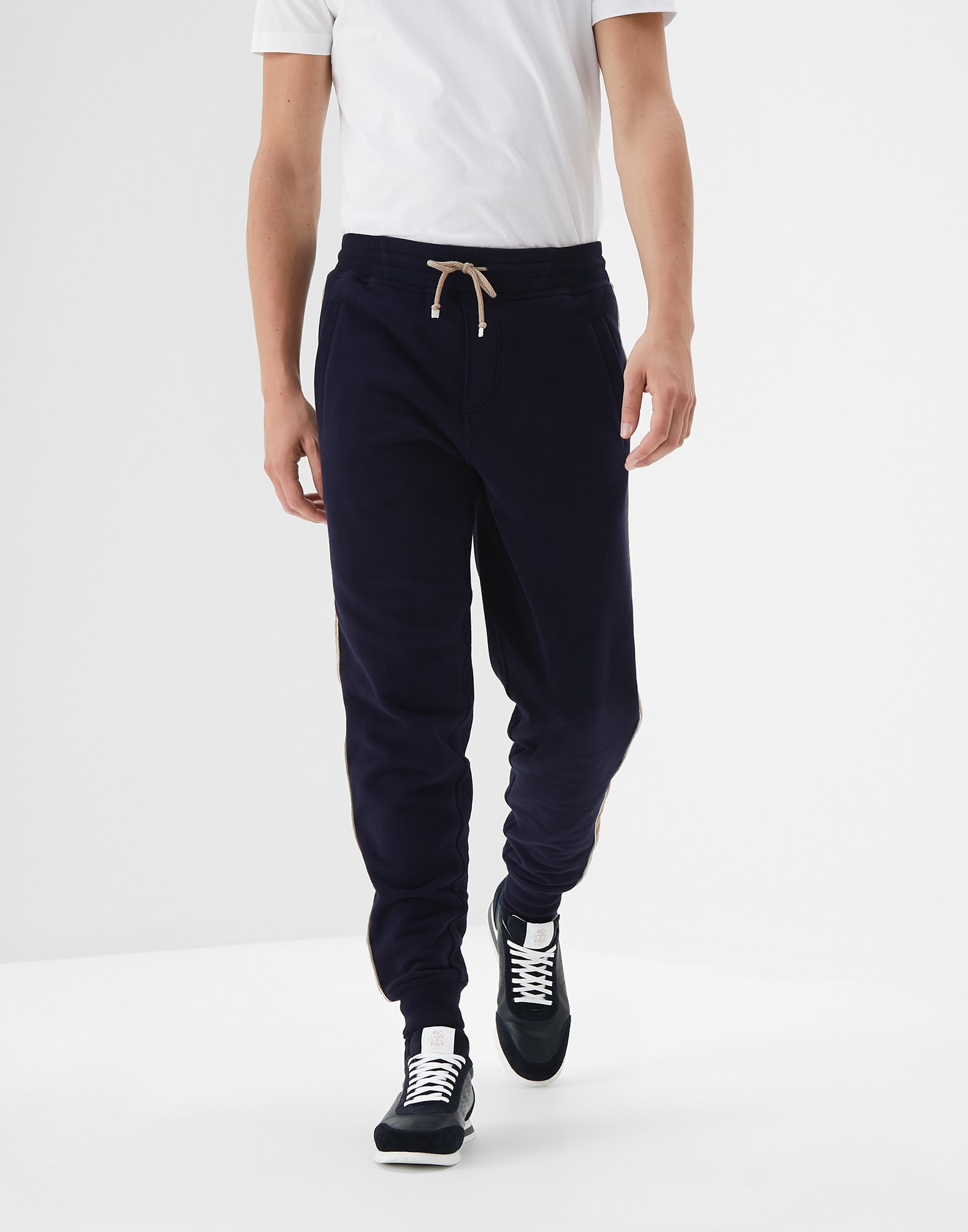 Sweatpants Cobalt Man 0 - Brunello Cucinelli