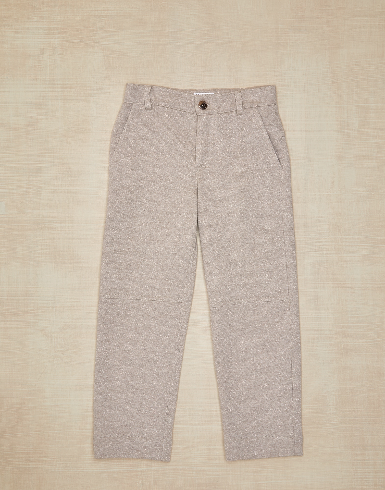 Trousers Beige Girl 0 - Brunello Cucinelli