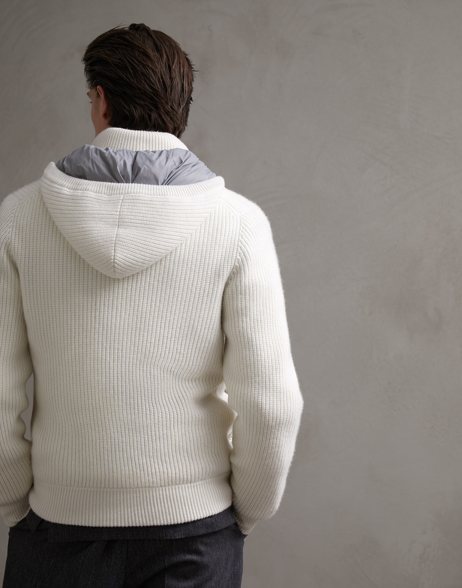 Knit Outerwear - Back view