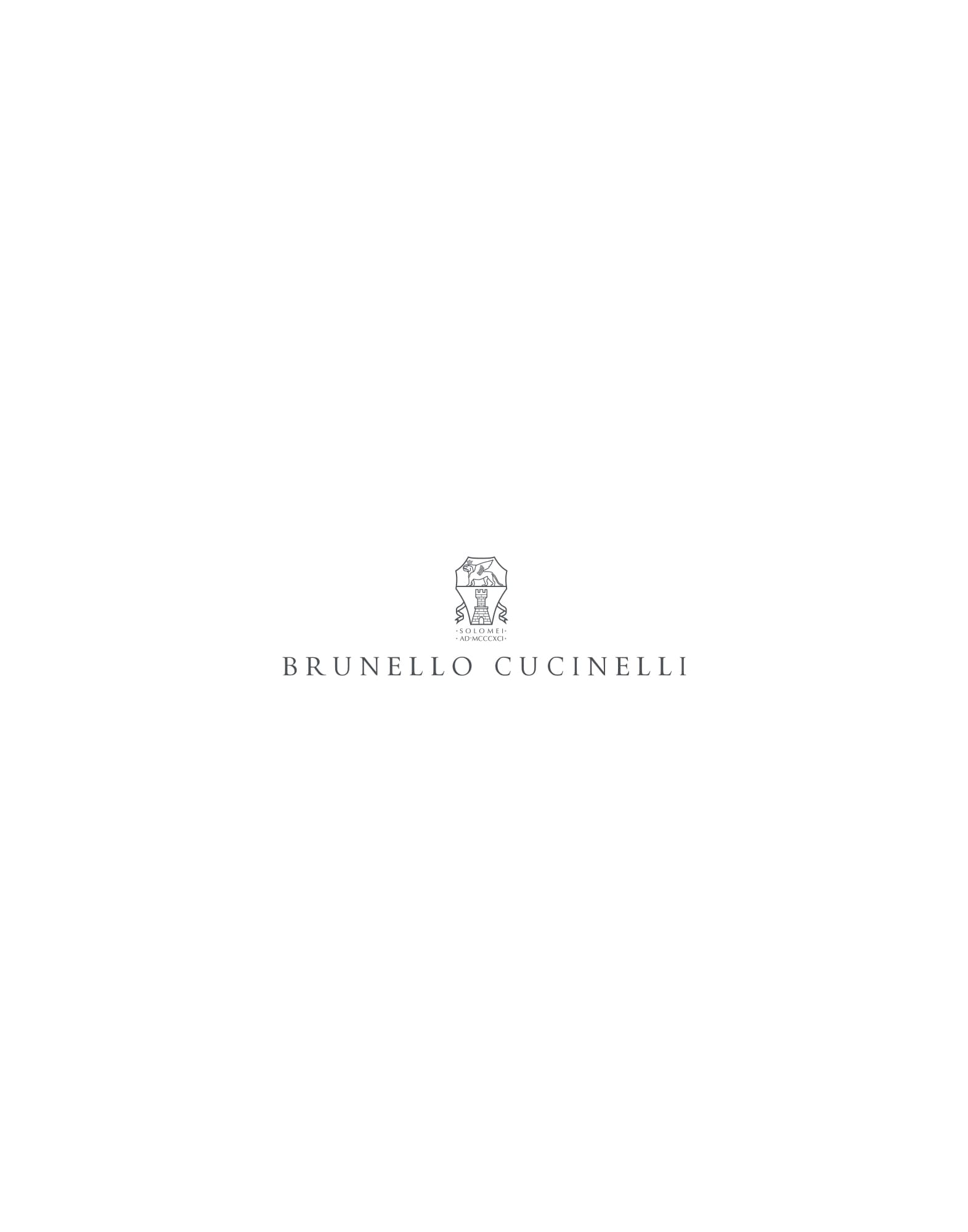 Linen and silk scarf Denim Man - Brunello Cucinelli